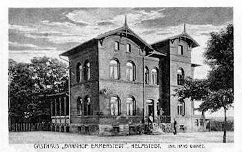 Photo: Grusskarte von Bahnhof Emmerstedt