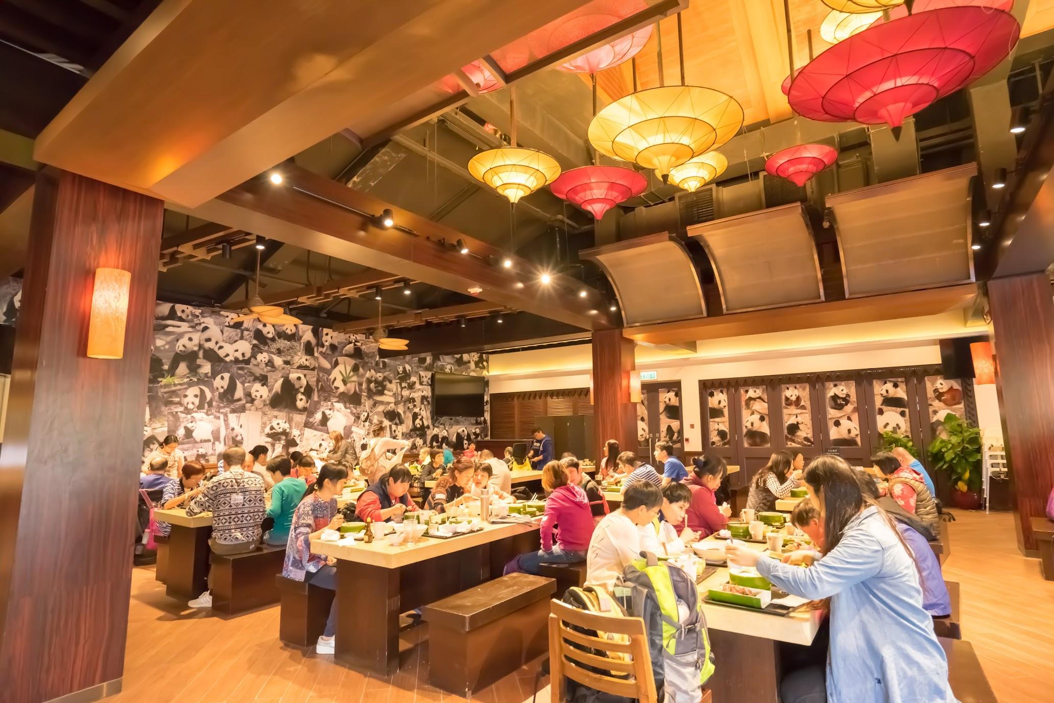 香港 海洋公園(オーシャンパーク) Panda Cafe1