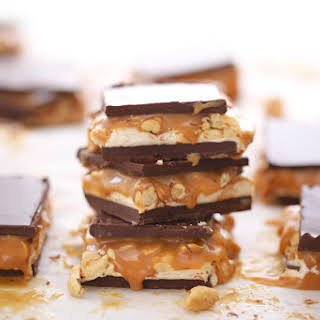 Candy Bar Fudge (Snickers).