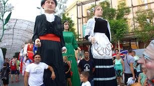 Manuel López Jerez y José Manuel Collado portan a Curro y a la Moza de Almería.