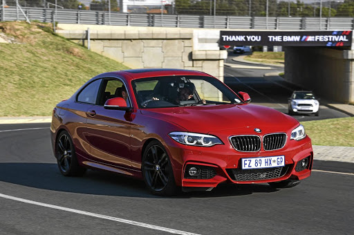 The design changes are minimal but the 2 Series looks the part with M Sport additions. Picture: BMW
