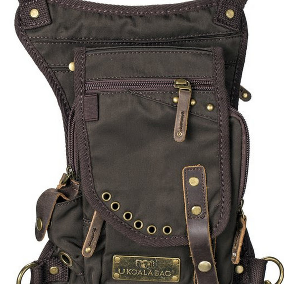 Ukoala Bag- Sale-20% off- Conceal Carry Bag- Outdoor Bag MTR Custom Leather, LLC