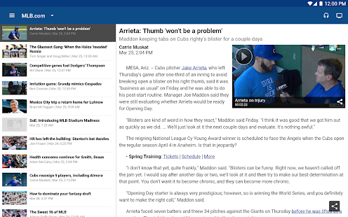 MLB.com At Bat Screenshot 10