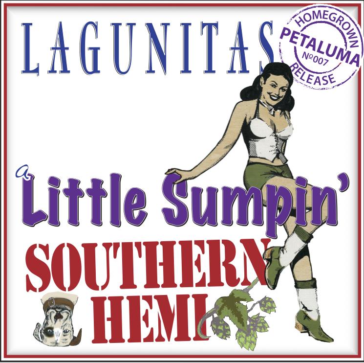 Logo of Lagunitas A Little Sumpin' Southern Hemi