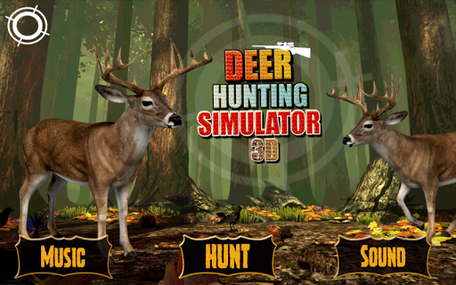 3D Deer Shooting Game