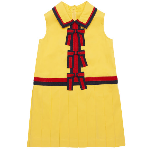 Primary image of Gucci Sleeveless Bow Dress