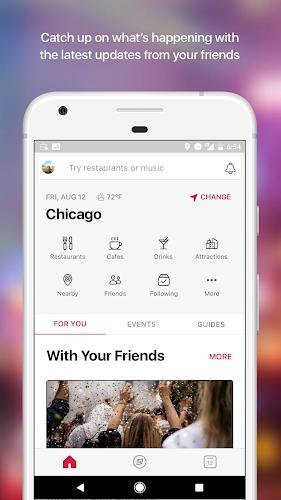 Facebook Local Android App Screenshot