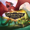 Gemstone Legends - epic RPG match3 puzzle game icon