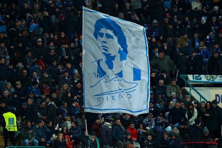 """Napoli wil ultiem eerbetoon: """"Het stadion vernoemen naar Diego Maradona"""""""