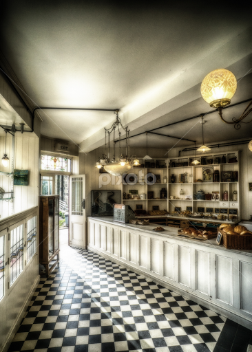 The Old Bakery Shop By Adam Lang