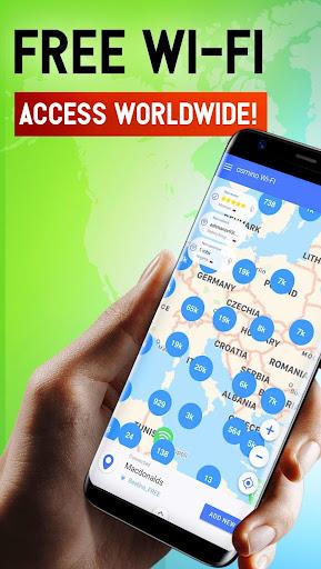 Free WiFi App: WiFi map, passwords, hotspots screenshot 1