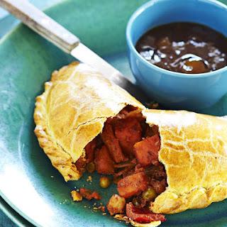 Vegetarian Carribean Patties - Curried Vegetable Pies.