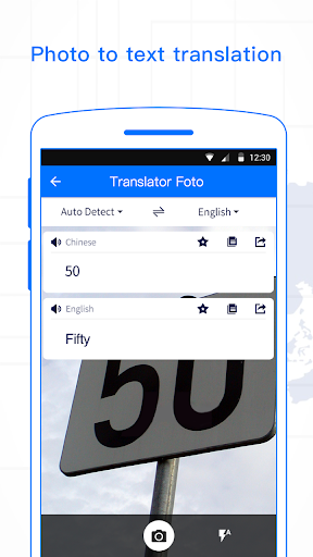 Translator Foto - Voice, Text & File Scanner 4.0 screenshots 1