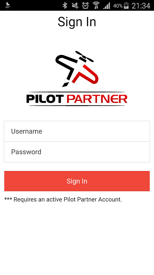Pilot Partner- screenshot
