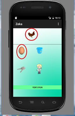 6 years educational board game - screenshot