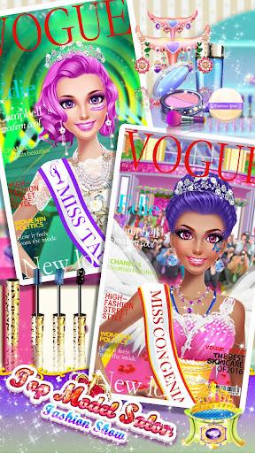 ud83dudc69ud83dudc60Top Model Salon - Beauty Contest Makeover 3.1.5017 screenshots 14