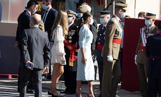 El vestido de doña Letizia diseñado por una almeriense