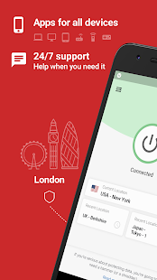 ExpressVPN - Unlimited Secure VPN Proxy Screenshot