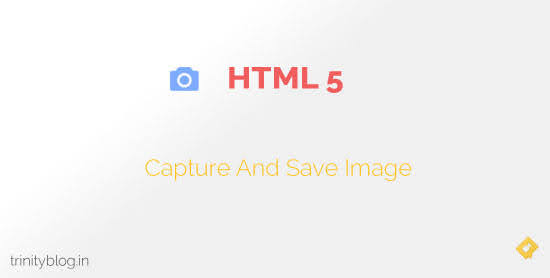 capture image using html5