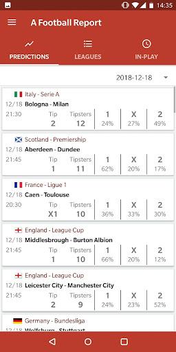 Football Tips & Stats - A Football Report 2.4 Screenshots 3