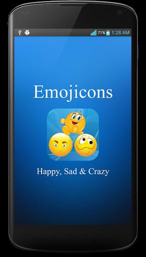 Emojicons: Happy Sad Crazy