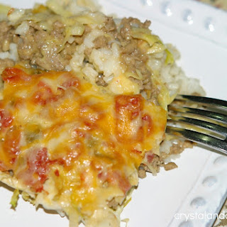 Easy Beef Cabbage Casserole