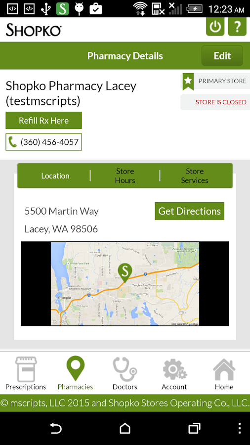 Shopko- screenshot
