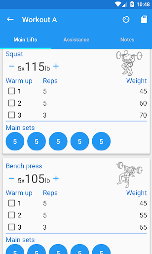 5x5 Workout Logger by SaraSoft (Google Play, United States