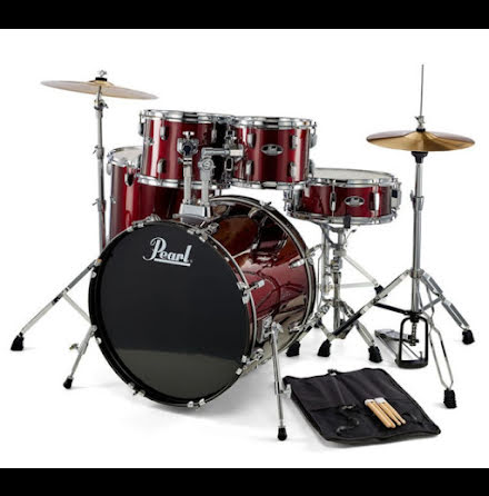 "Pearl Roadshow 22""-set - Wine Red"