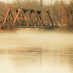 CN Railway Bridge by Linda    L Tatler - Buildings & Architecture Bridges & Suspended Structures