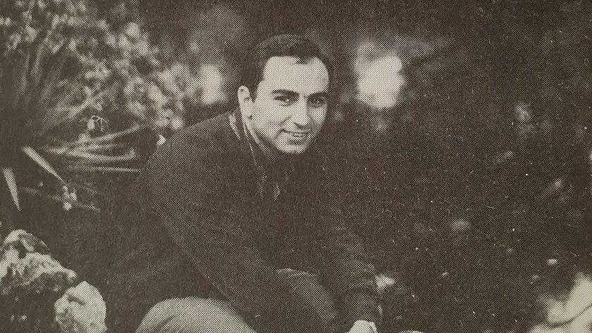 Francisco Brines, que recibió hace unos días el Premio Cervantes de manos de los Reyes, en una imagen de juventud.