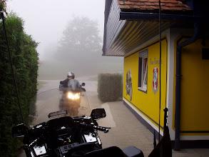 Photo: Schlechtwetter Start