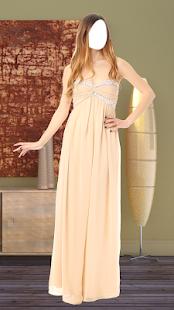 Women Long Dress Photo Montage - náhled