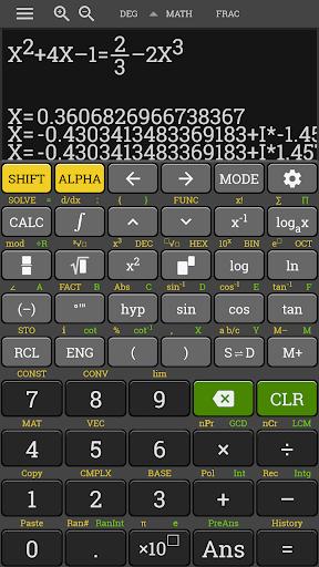 HP 35s Scientific Calculator fx 570 es plus free 3.4.6-build-02-09-2018-18-release screenshots 6