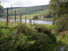 Photo: PW - Descending towards Ponden Reservoir