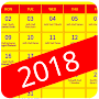 Hindi Calendar 2018 APK icon