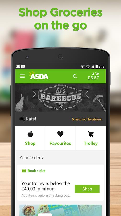 ASDA- screenshot