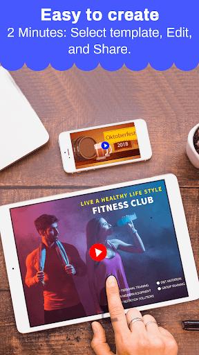 Marketing Video, Promo Video & Slideshow Maker 28.0 screenshots 3