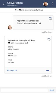 vCita CRM for Mobile- screenshot thumbnail
