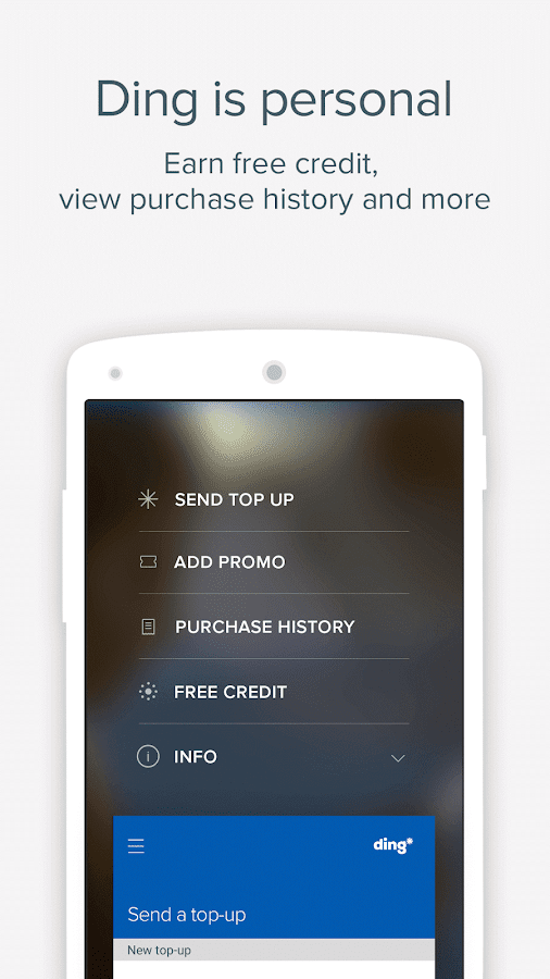 Ding TopUp: Mobile Recharge- screenshot