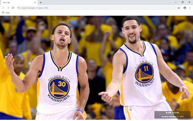 Klay Thompson New Tab & Wallpapers Collection