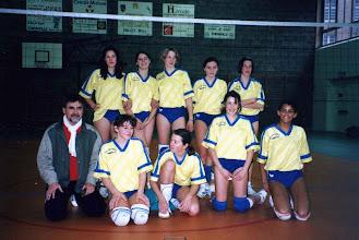 Photo: 18-12-1995 Equipe MF au gymnase du Centre