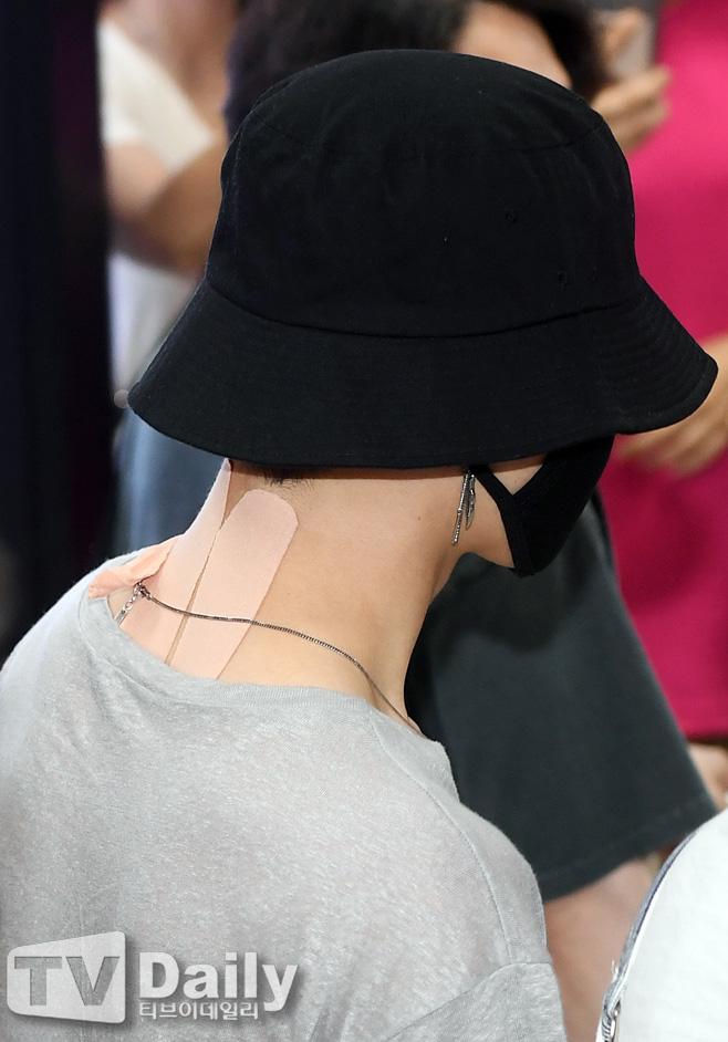 jimin neck bandage 3