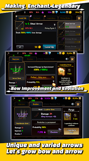 Grow Idle Archer 3.1.6 screenshots 2