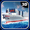 Heavy Cargo Ship Crane Loading icon