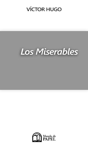 LIBRO GRATIS - LOS MISERABLES