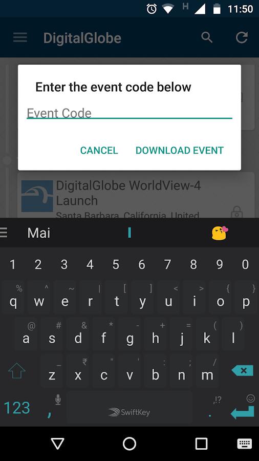 DigitalGlobe Event App Android Apps on Google Play