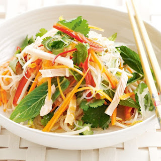 Vietnamese Noodle And Smoked Chicken Salad