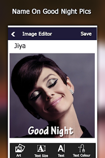 Name on Good Night Pics - náhled