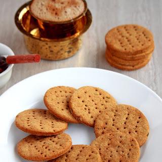 Jau Ki Papdi | Baked Barley Crackers Recipe